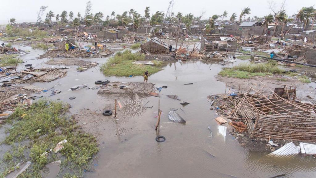Estragos causados pelo ciclone Idai na Beira