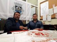 Eduardo Felipe (Edú) e José Oliveira, AD Marco 09 (facebook)