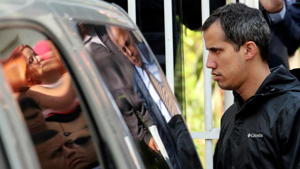 Forças de segurança detêm chefe de gabinete de Juan Guaidó
