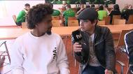 Bruno Paz e João Silva levaram Dani a conhecer a Academia