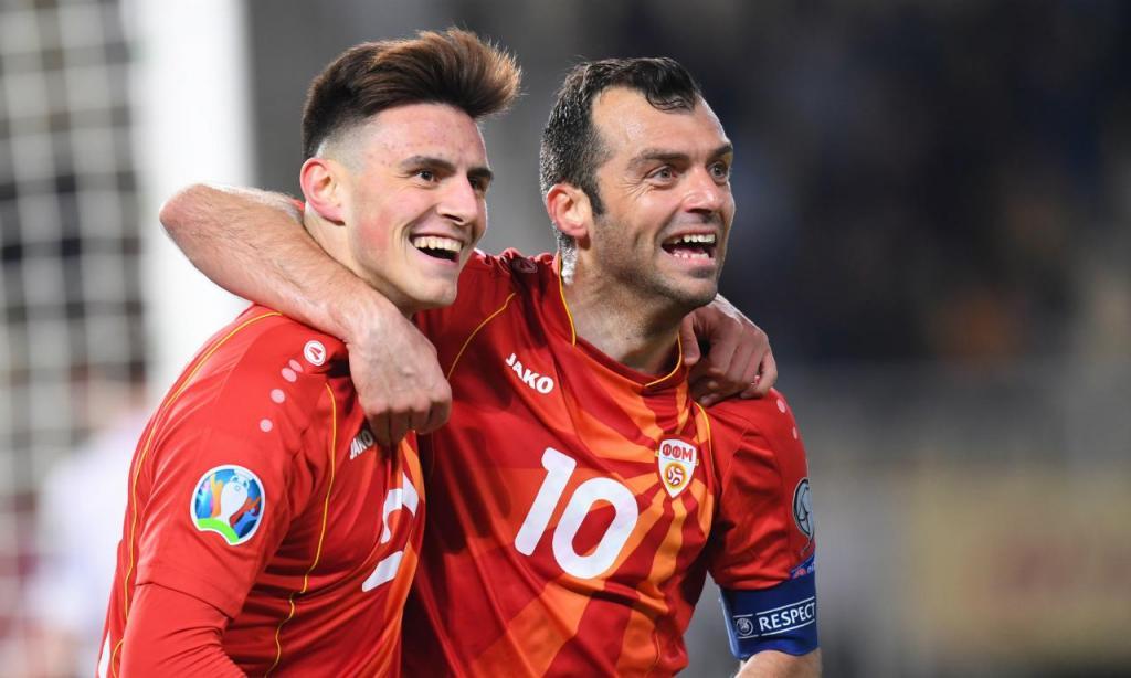 Euro 2020 (Qualificação) Macedónia-Letónia (LUSA)