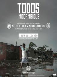 Benfica-Sporting por Moçambique
