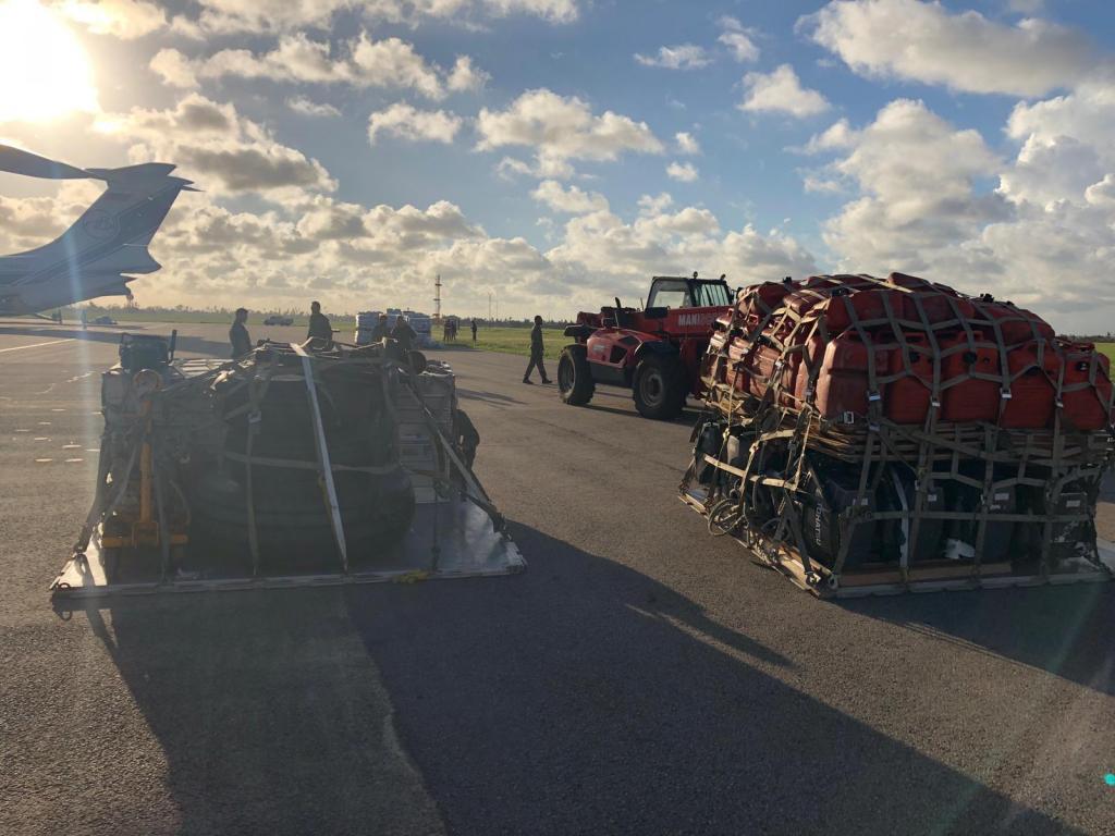 C130 chega à província da Beira