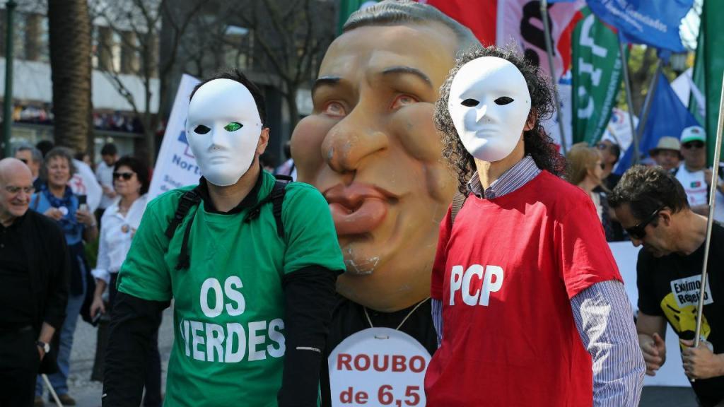 Manifestação de professores em Lisboa