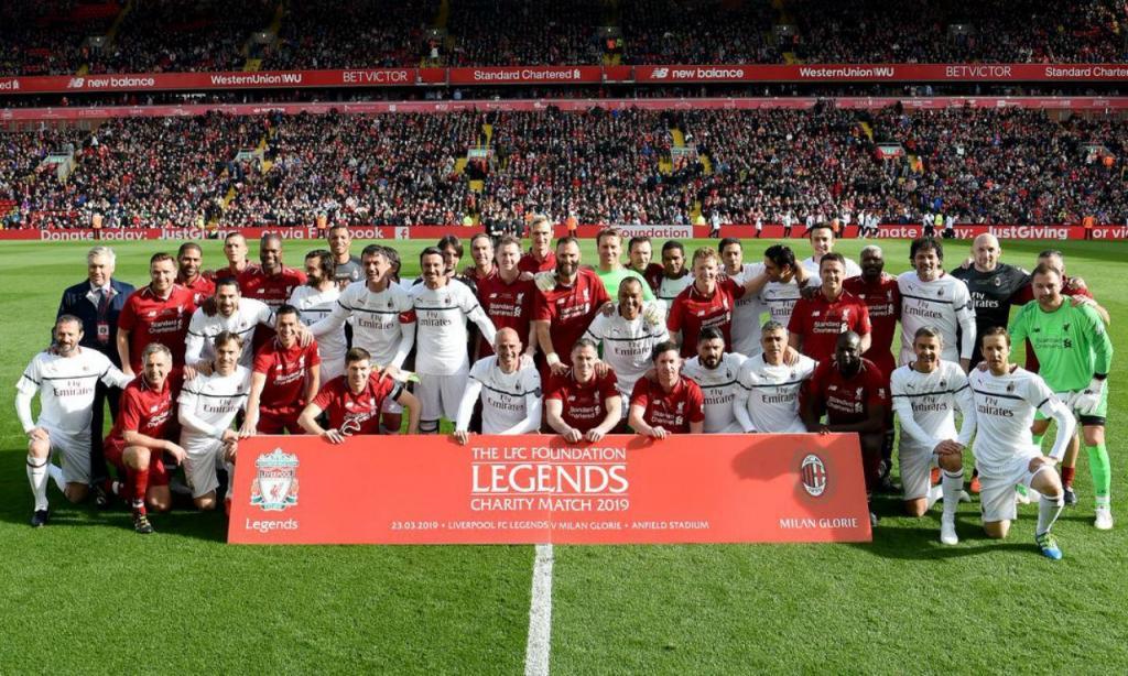 Liverpool-Milan, jogo de lendas (twitter Liverpool)