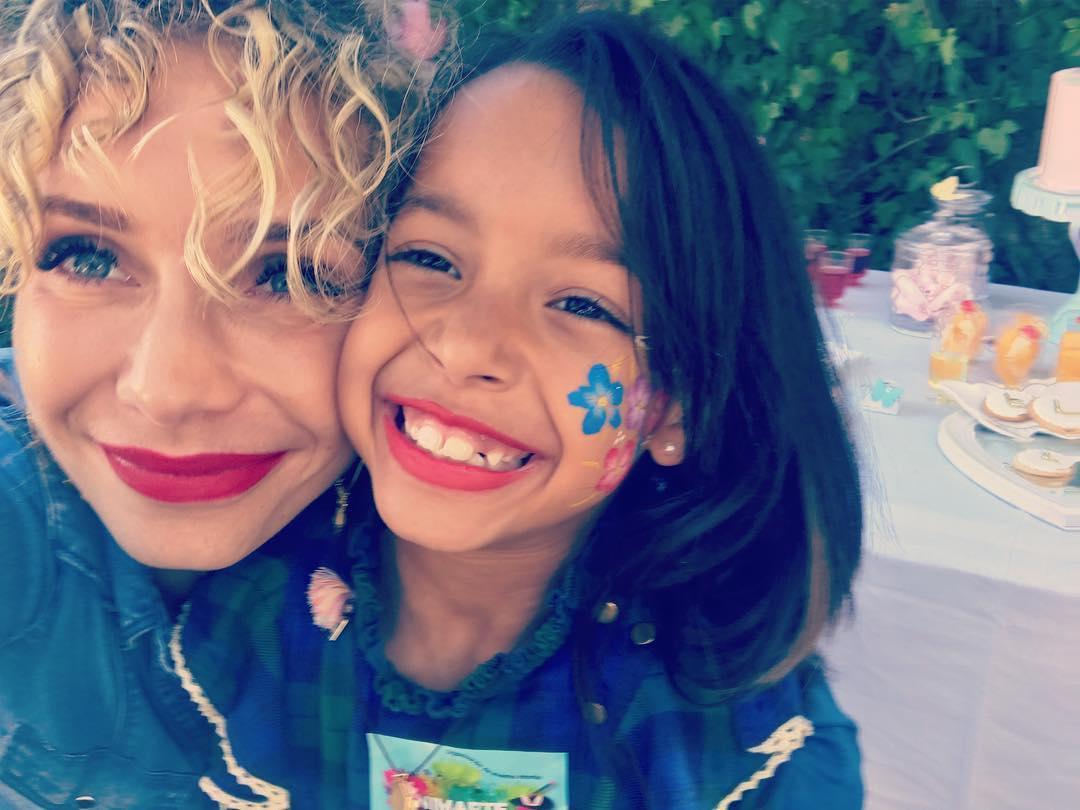 Festa de aniversário de Lyannii, filha de Luciana Abreu