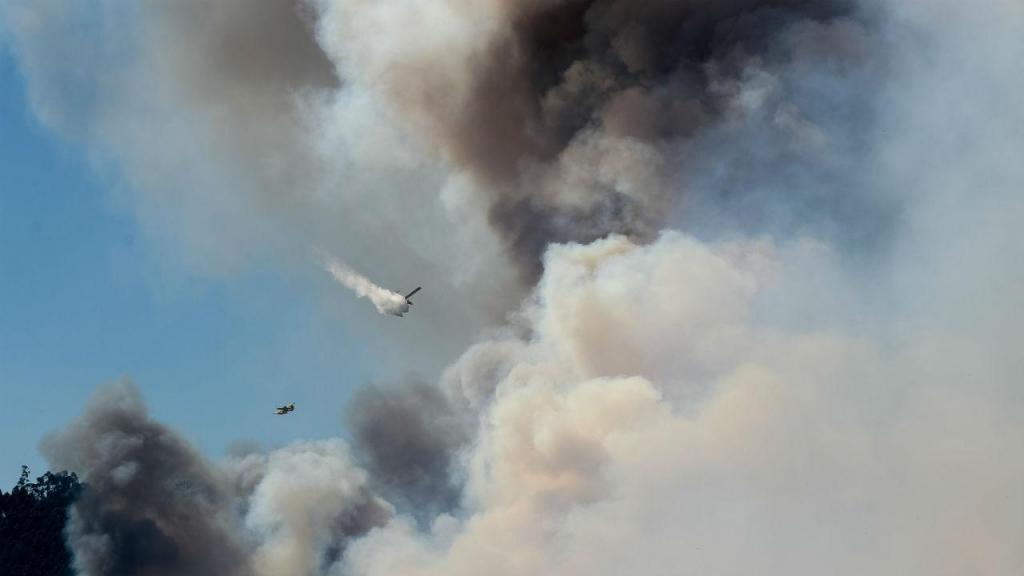 Incêndio em Oliveira de Azeméis