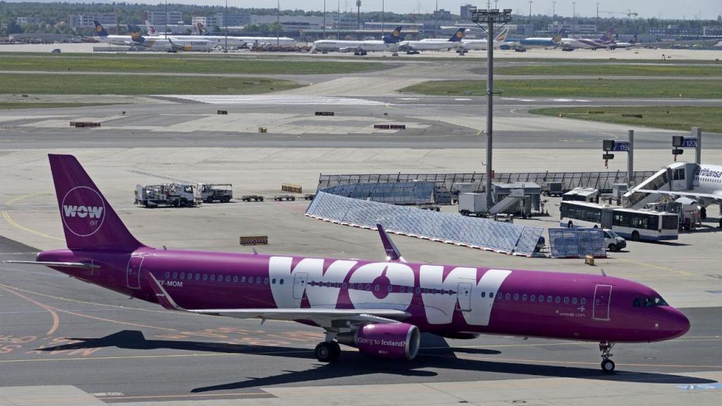 Avião da Wow Air