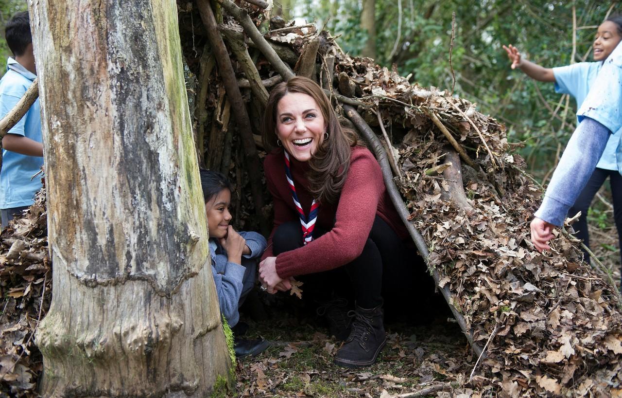 Kate Middleton recorda os tempos de escuteira