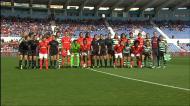 Muito fair-play antes do Benfica-Sporting por Moçambique