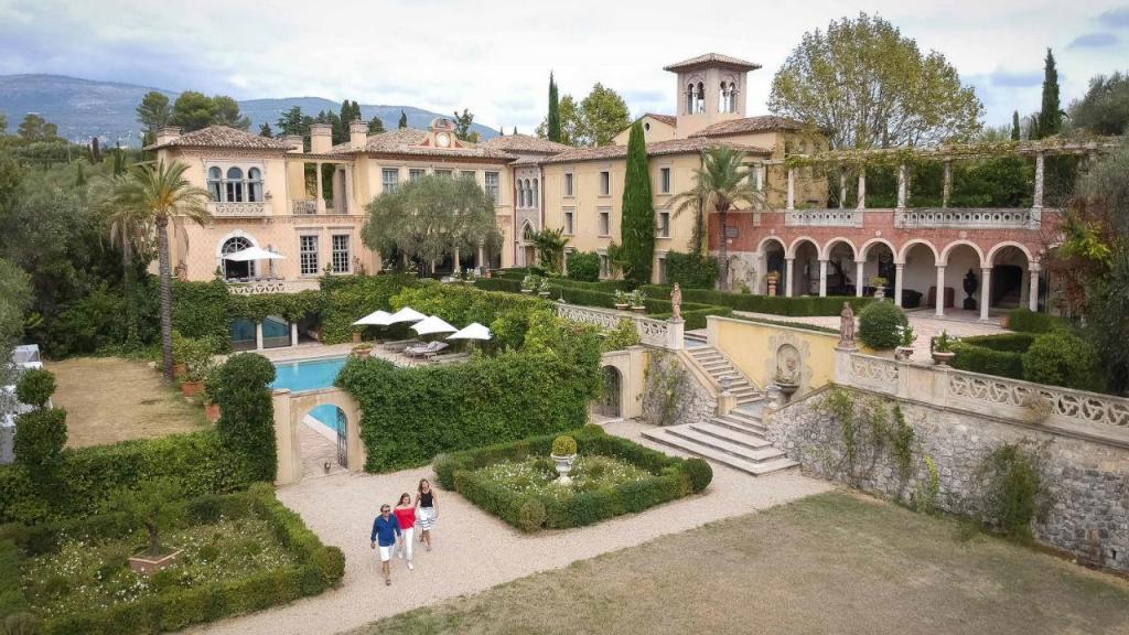 A mansão de Patrick Diter em França