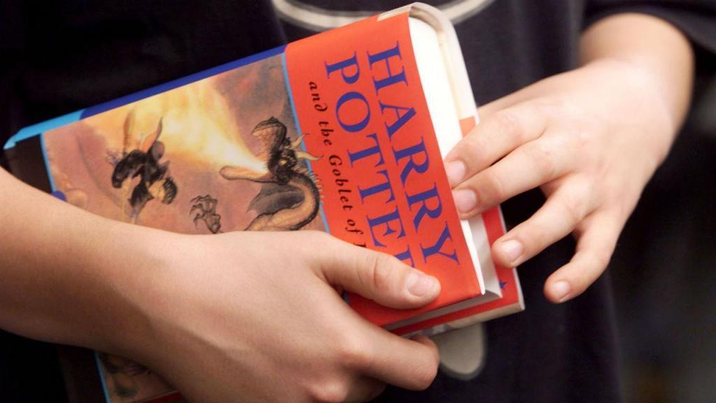 Livro da saga Harry Potter