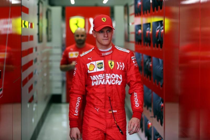 Mick Schumacher (Reuters)