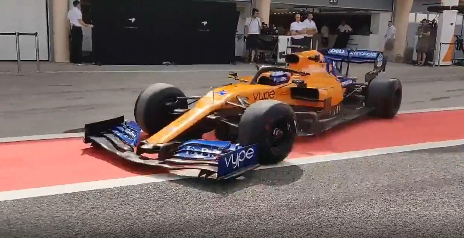 Fernando Alonso (reprodução Twitter McLaren)