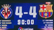 Villarreal-Barça: oito golos para ver, com destaque para o quarto