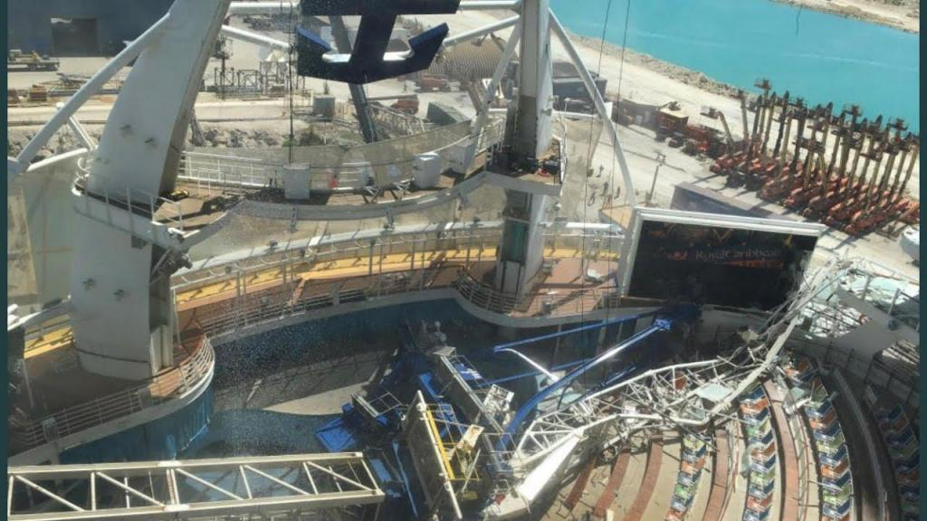 Acidente com o Oasis of the Seas