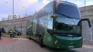 Autocarros com as equipas já chegaram a Alvalade