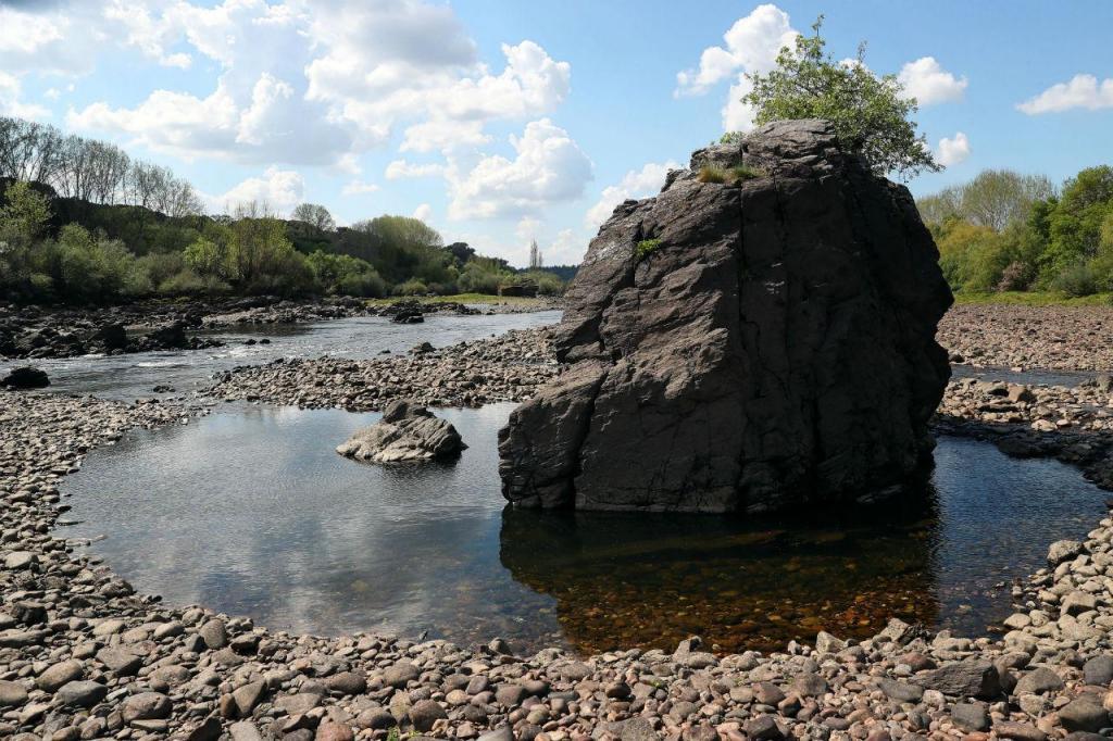 Rio Tejo entre Alentejo e Ribatejo