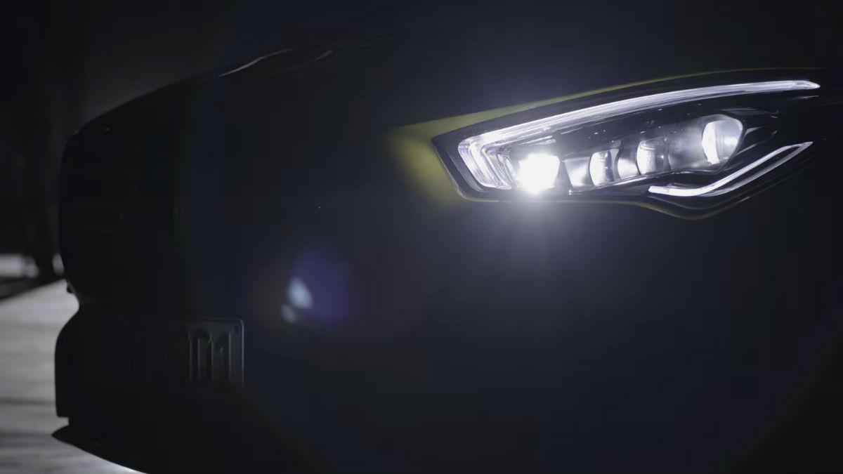 Mercedes-AMG CLA 35 4Matic (reprodução YouTube Mercedes-Benz)