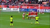 José Fonte marca, mas Lille não vence jogo com decisão polémica do VAR