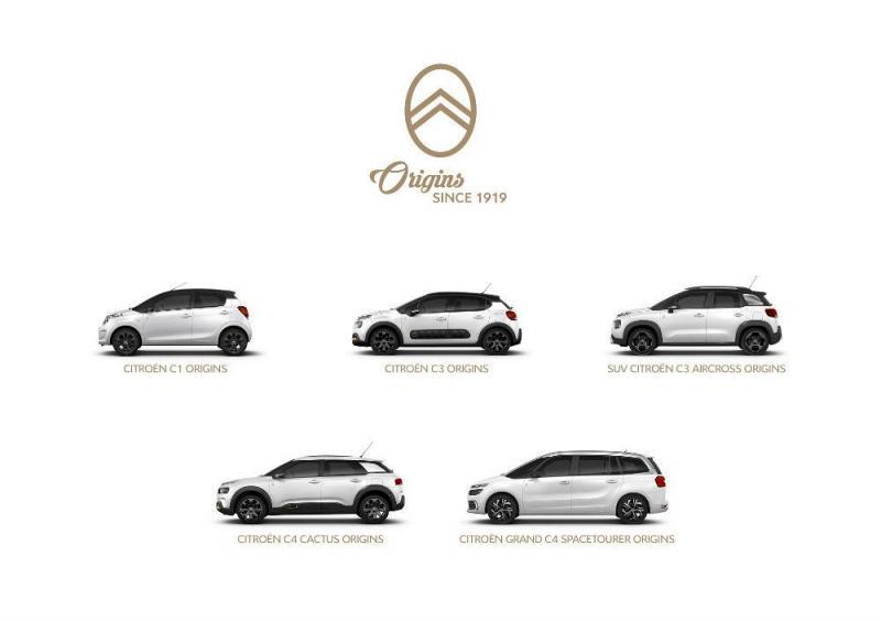 Citroën gama Origins