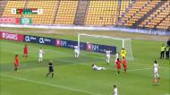 Cláudia Neto completa a goleada no último lance do jogo