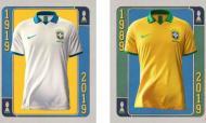 As novas camisolas do Brasil para a Copa América