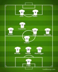 Onze-base do Eintracht Frankfurt