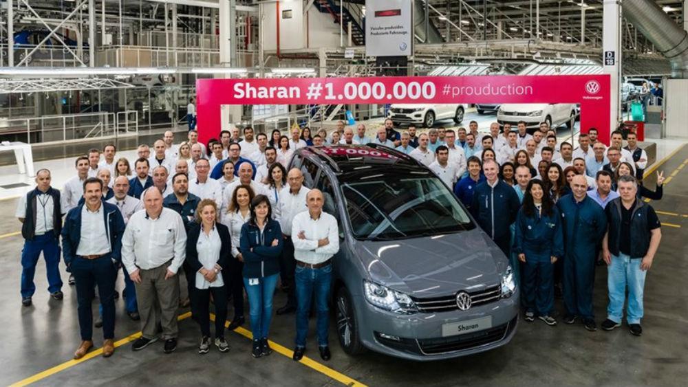 Sharan 1 milhão (Autoeuropa)