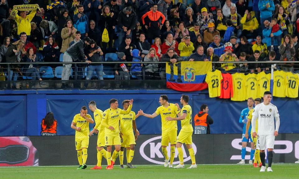 Villarreal vence e sai da zona de despromoção
