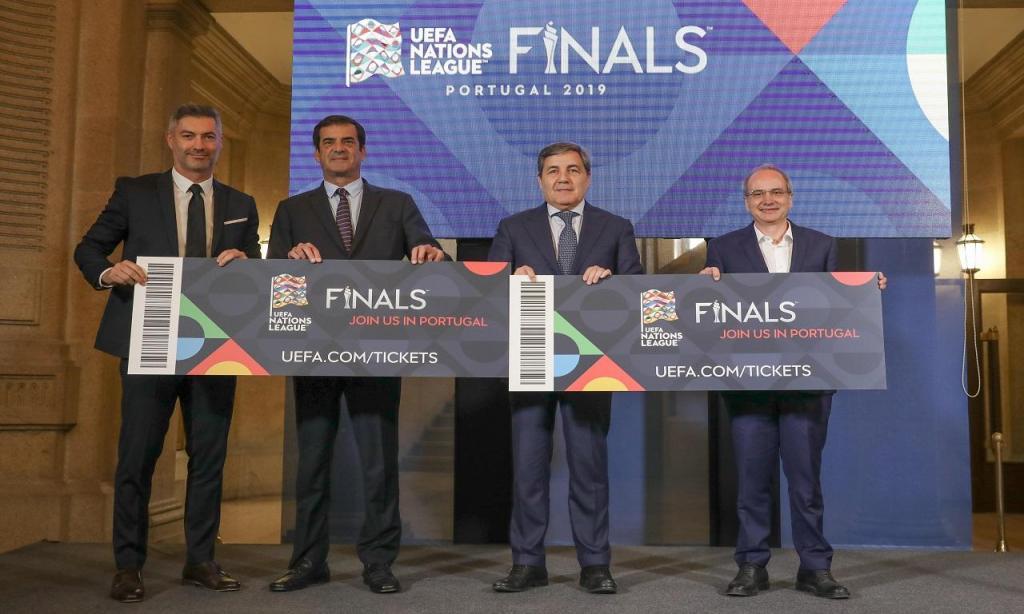 Apresentação oficial final four Liga das Nações (Lusa)