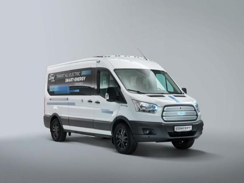 Ford Transit Smart Energy Concept