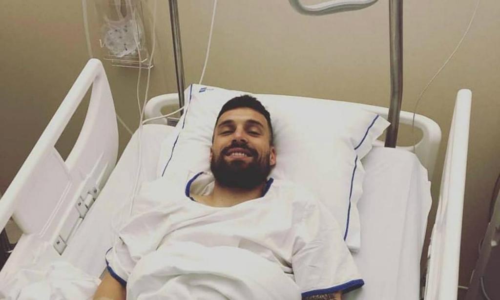 João Reis operado ao joelho direito (CD Tondela)