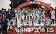 Argentina conquista o título sul-americano de sub-17 com Aimar (foto: @sub17Peru2019)
