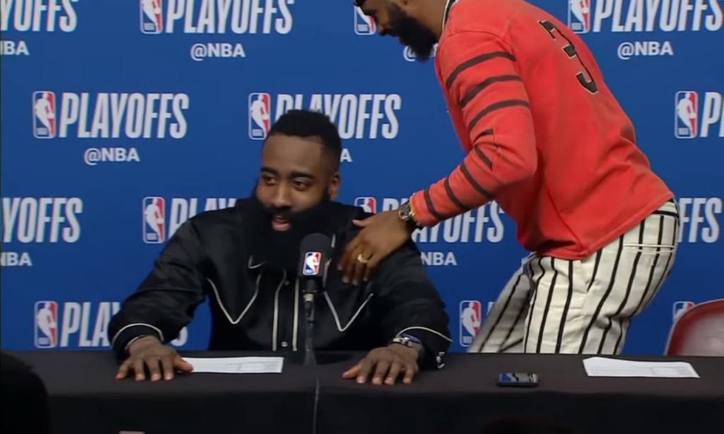 James Harden e Chris Paul (Youtube)