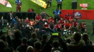 Lille goleou PSG e no fim jogadores e adeptos foram à loucura