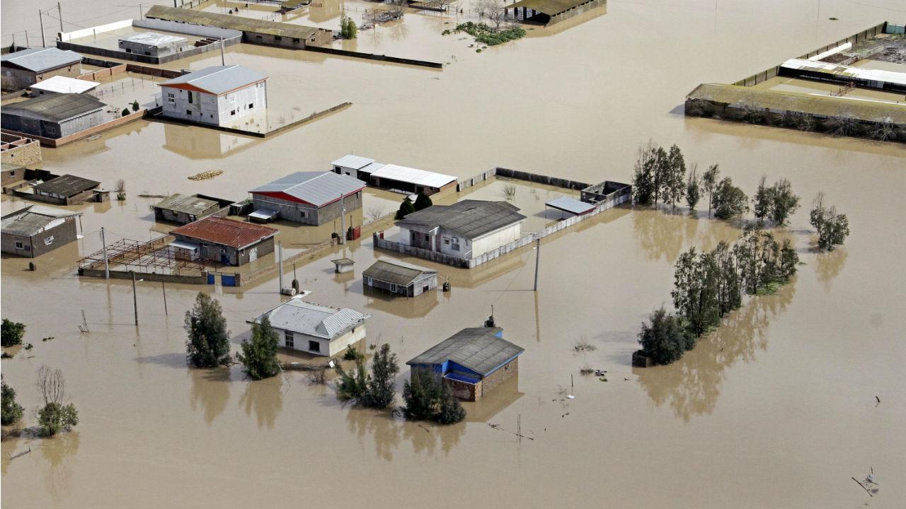 Inundações no Irão
