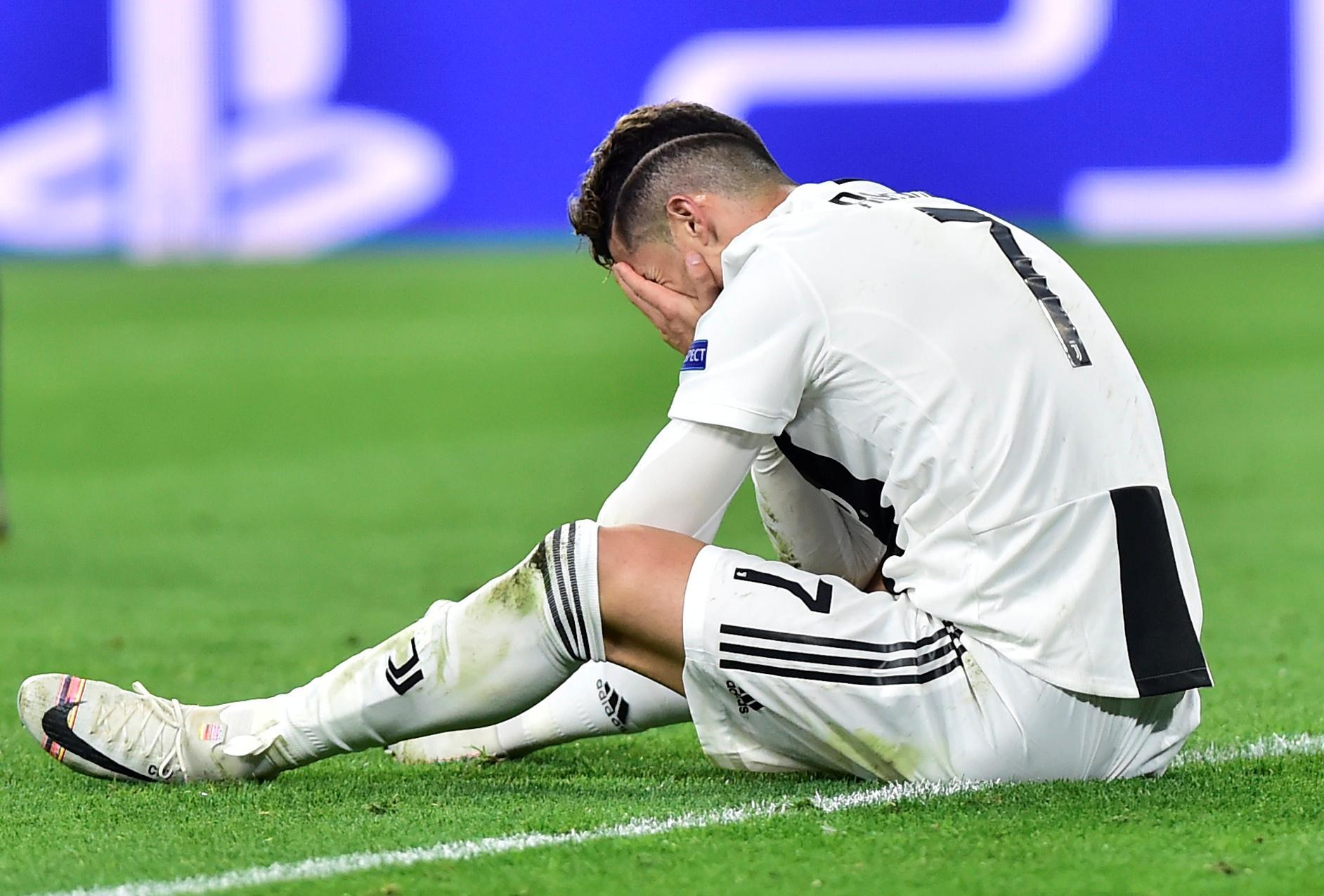 Cristiano Ronaldo chora derrota da Juventus
