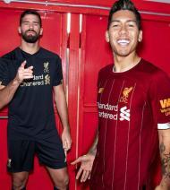 Novos equipamentos do Liverpool (foto Liverpool)