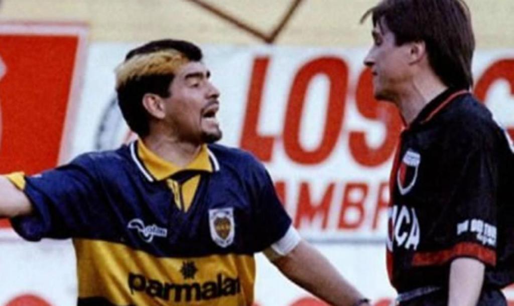 Maradona contra Toresani