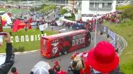 VÍDEO: Benfica recebido em euforia no Estádio da Luz