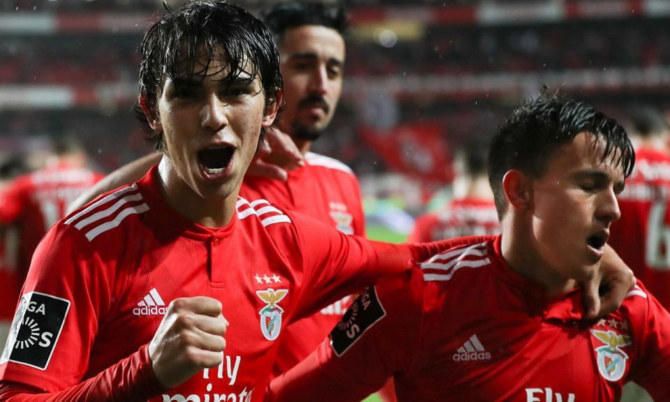 Benfica-Marítimo, 6-0 (destaques)