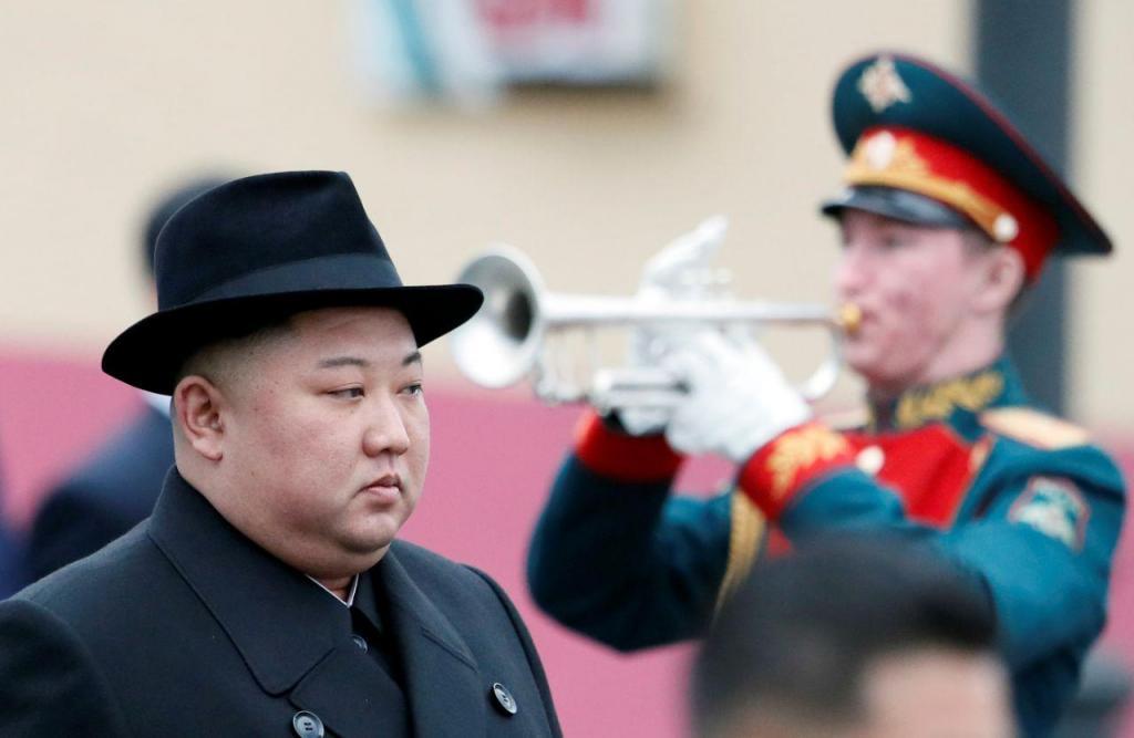 Kim Jong-un chega à Rússia