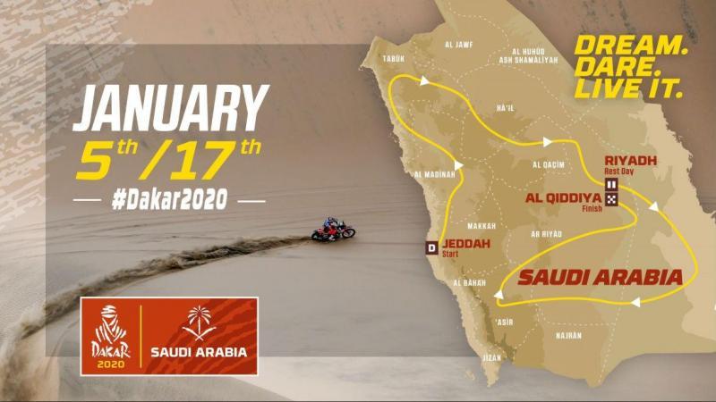 Dakar 2020 (reprodução Twitter Dakar Rally)