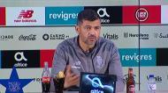 Conceição: «Fala-se do regresso de Sérgio Oliveira e é mentira»