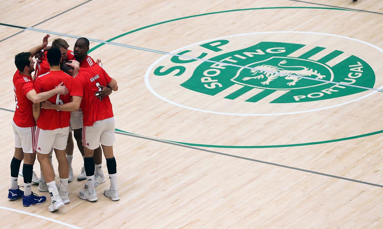 Voleibol: Sporting-Benfica