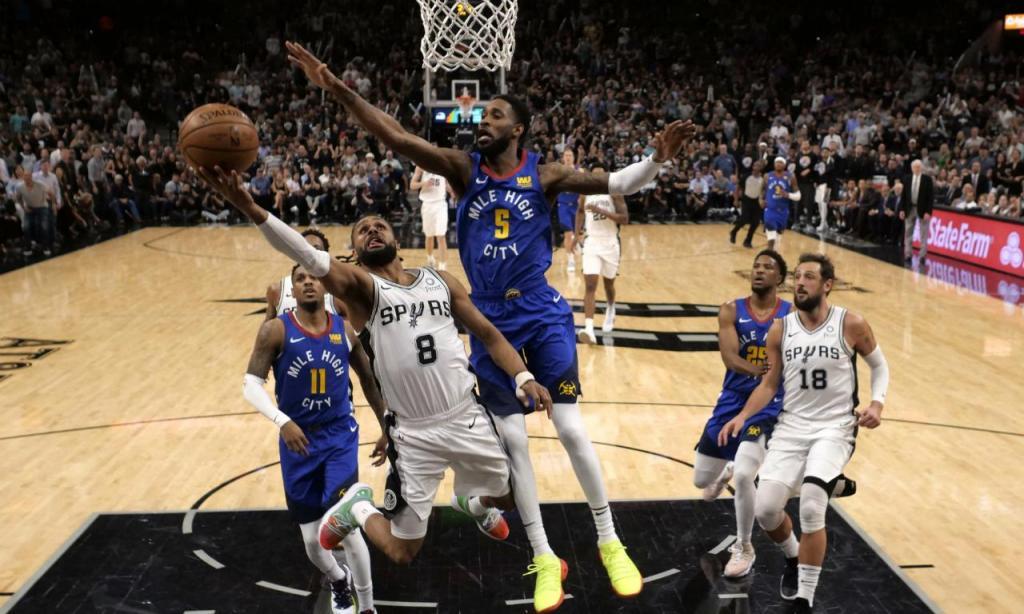 San Antonio Spurs-Denver Nuggets (foto Soobum Im-USA TODAY Sports)