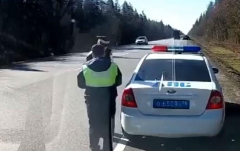 Ação policial termina com acidente (reprodução Facebook Policias.es)
