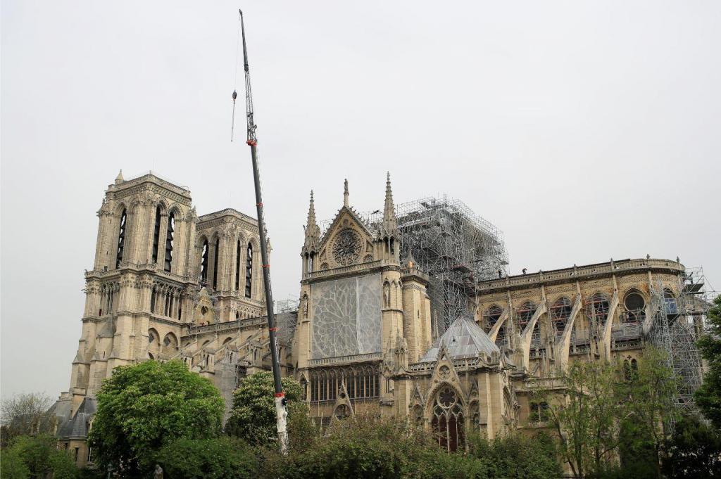 Arrancam os trabalhos na Catedral de Notre-Dame