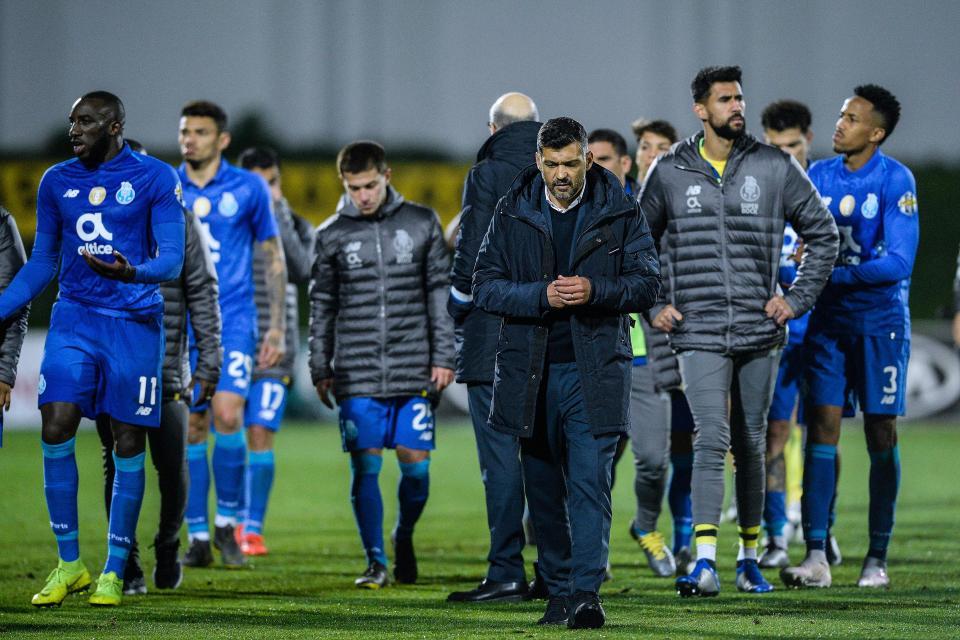FC Porto já desperdiçou por três vezes dois golos de vantagem
